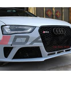 RS4 Style (B9) Front Bumper w Grille